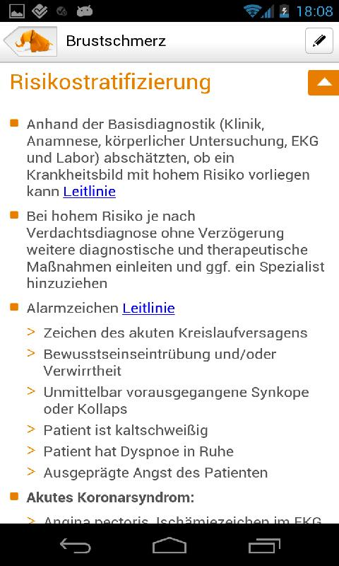 Checkme! Klinikstandards- screenshot