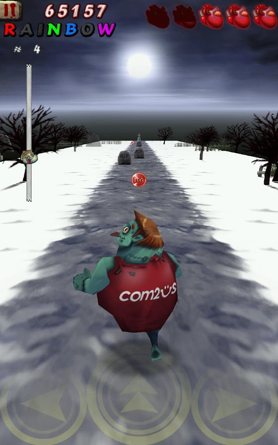 Zombie Runaway UP - screenshot