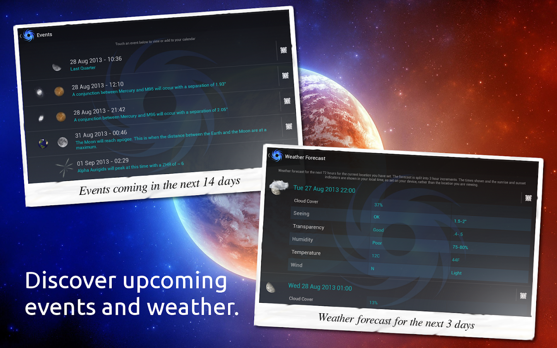 Vortex Planetarium - Astronomy - screenshot
