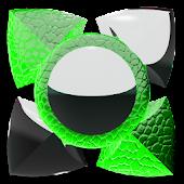 green liz Next Launcher Theme