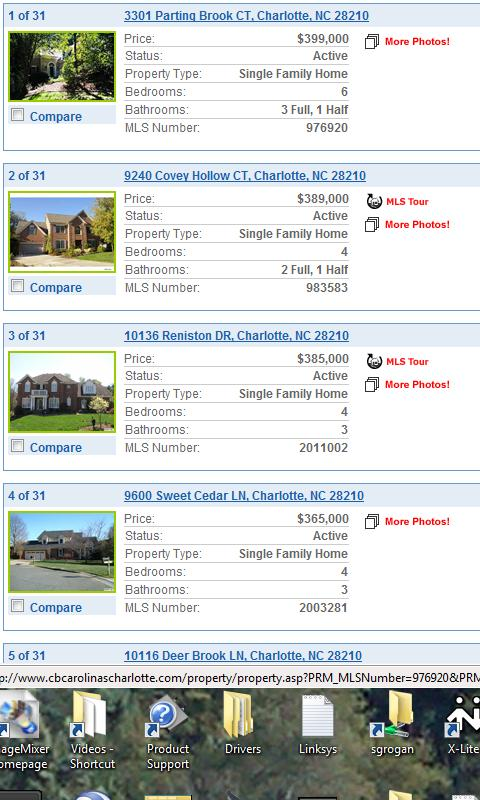 Charlotte Real Estate Finder - screenshot