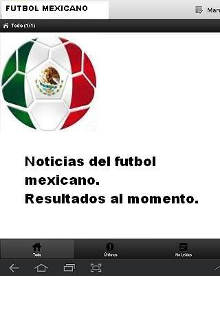 Futbol Mexicano - screenshot
