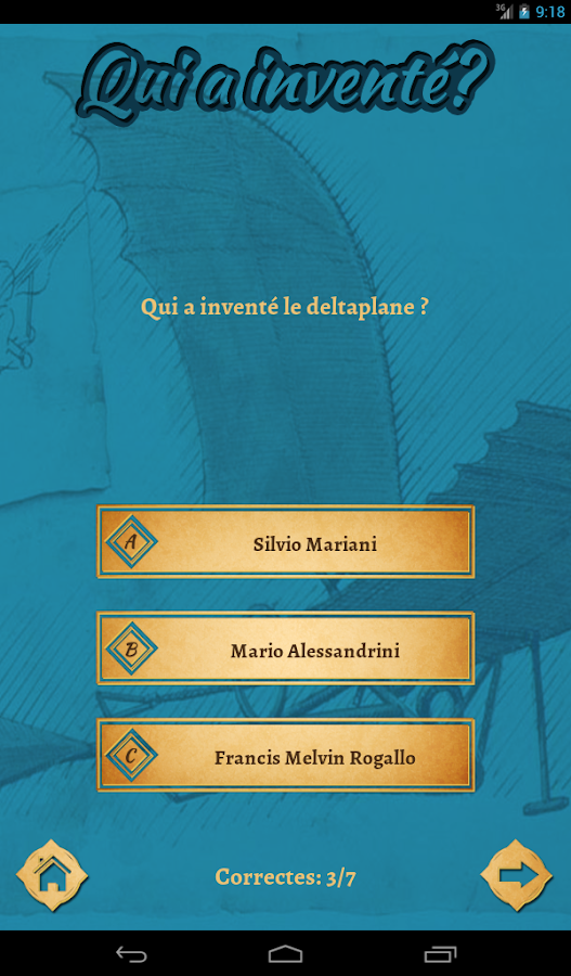 Qui a inventé ?- screenshot