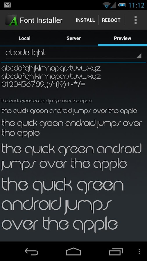 Font Installer ★ Root ★- screenshot