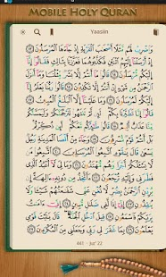 Mobile Holy Quran (Tablet)- screenshot thumbnail