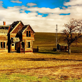 Old Homestead by Earl Heister - Buildings & Architecture Decaying & Abandoned ( , abandoned, building )