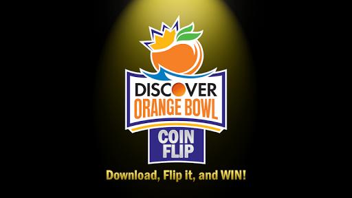 Orange Bowl Coin Flip