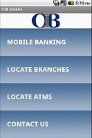 Screenshot of Ouachita Independent Bank