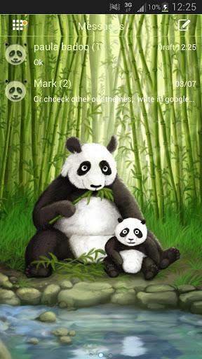 GO SMS Pro Theme Panda Buy