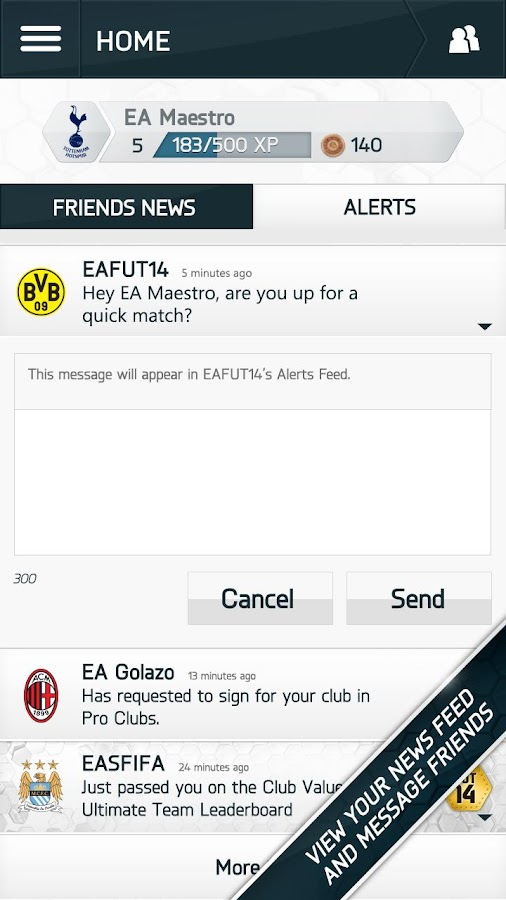 EA SPORTS Football Club - screenshot