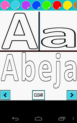 Best Spanish ABC Trace & Learn - screenshot
