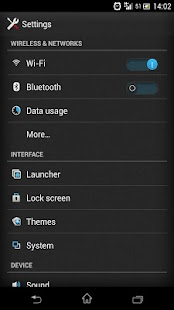 CM11 CM10 FREE SONY UXP THEME - screenshot thumbnail