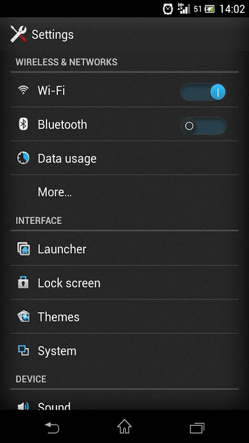 CM11 CM10 FREE SONY UXP THEME - screenshot