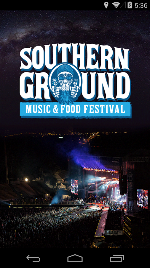Southern Ground Music & Food- screenshot