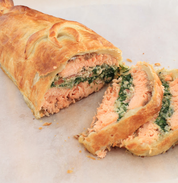 Salmon Wellington Recipe