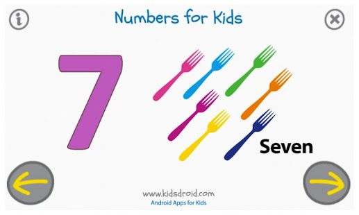 Numbers for Kids (Preschool)- screenshot thumbnail