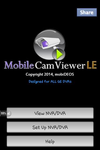 MobileCamViewer for GE DVRs
