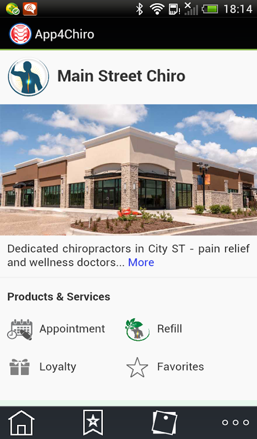 App4Chiro- screenshot
