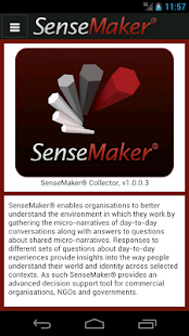 SenseMaker® Collector- screenshot thumbnail