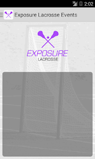 Exposure Lacrosse Events- screenshot thumbnail