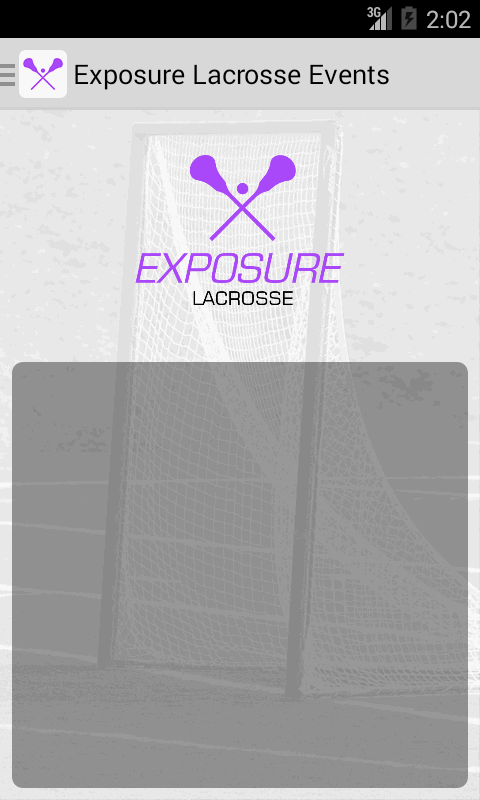 Exposure Lacrosse Events- screenshot