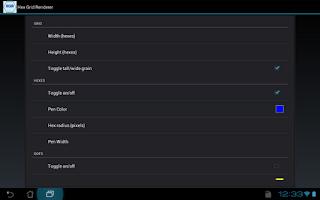 Screenshot of Hex Grid Renderer