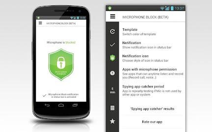 Mic Block - Anti spy & malware Screenshot 23