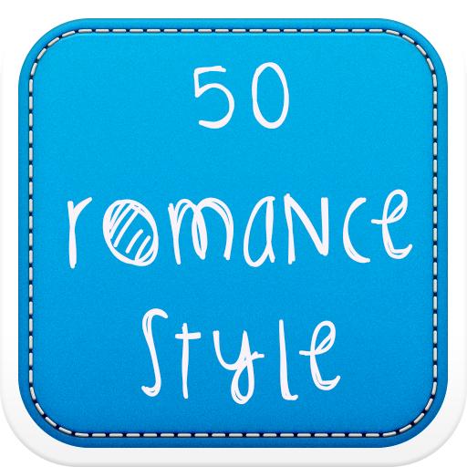50 Romance Fonts Style LOGO-APP點子