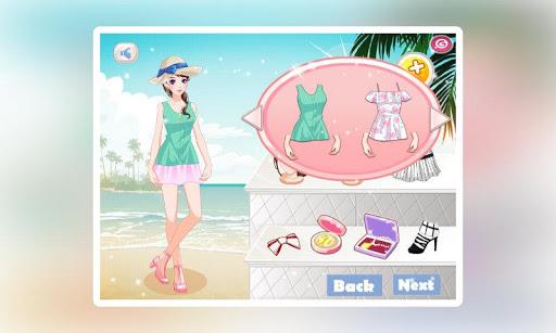 玩休閒App|女生换装:佛罗里达度假女孩免費|APP試玩
