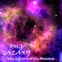 OMG Galaxy Lite Wallpaper icon