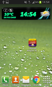 Ultimate Weather And Clock screenshot 2