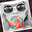 Colorful-Cool art photo editor icon