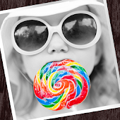 Cool art photo editor→Colorful