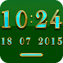 BRAZIL Digital Clock Widget icon