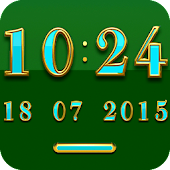 BRAZIL Digital Clock Widget
