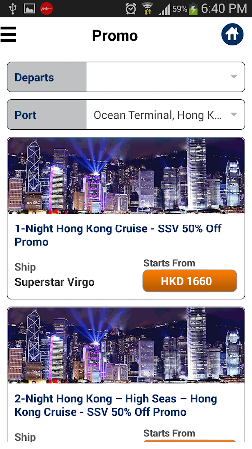Star Cruises- screenshot