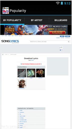 Lyrics Downloader Free