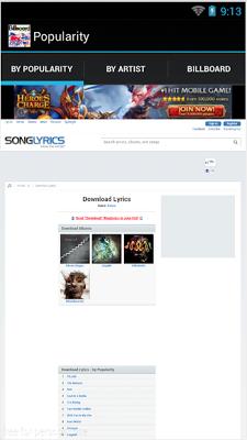 Lyrics Downloader Free - screenshot