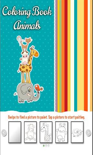 Libro para Colorear - Animales