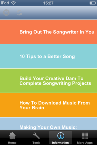 music writing app ios android