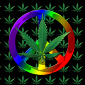 Marijuana Peace Theme