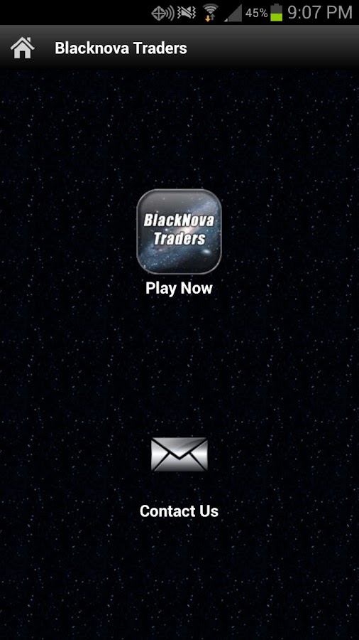 BlackNova Traders - screenshot