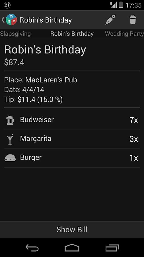 Restaurant Expense Manager