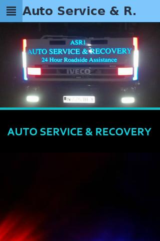 Auto Service Recovery