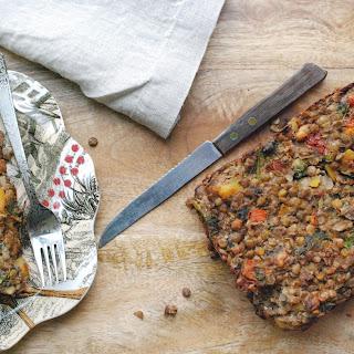 Lentils and Broccoli Loaf