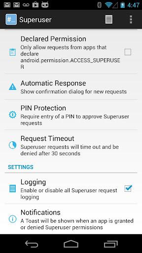 Superuser v1.0.0.7 APK
