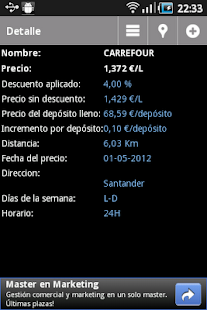 Top Gasolineras España- screenshot thumbnail