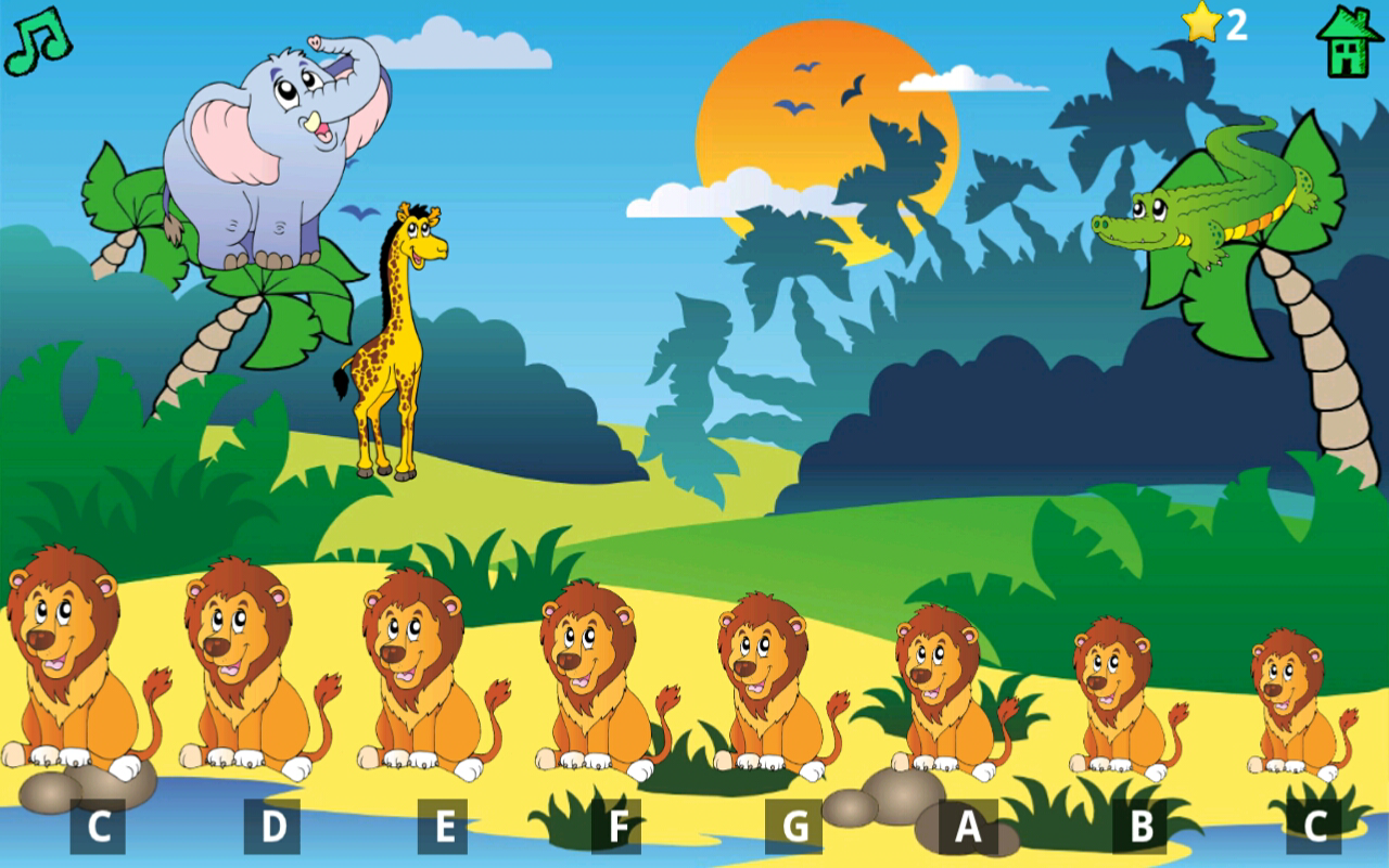 kids fun animal piano pro screenshot - Fun Kid Pictures