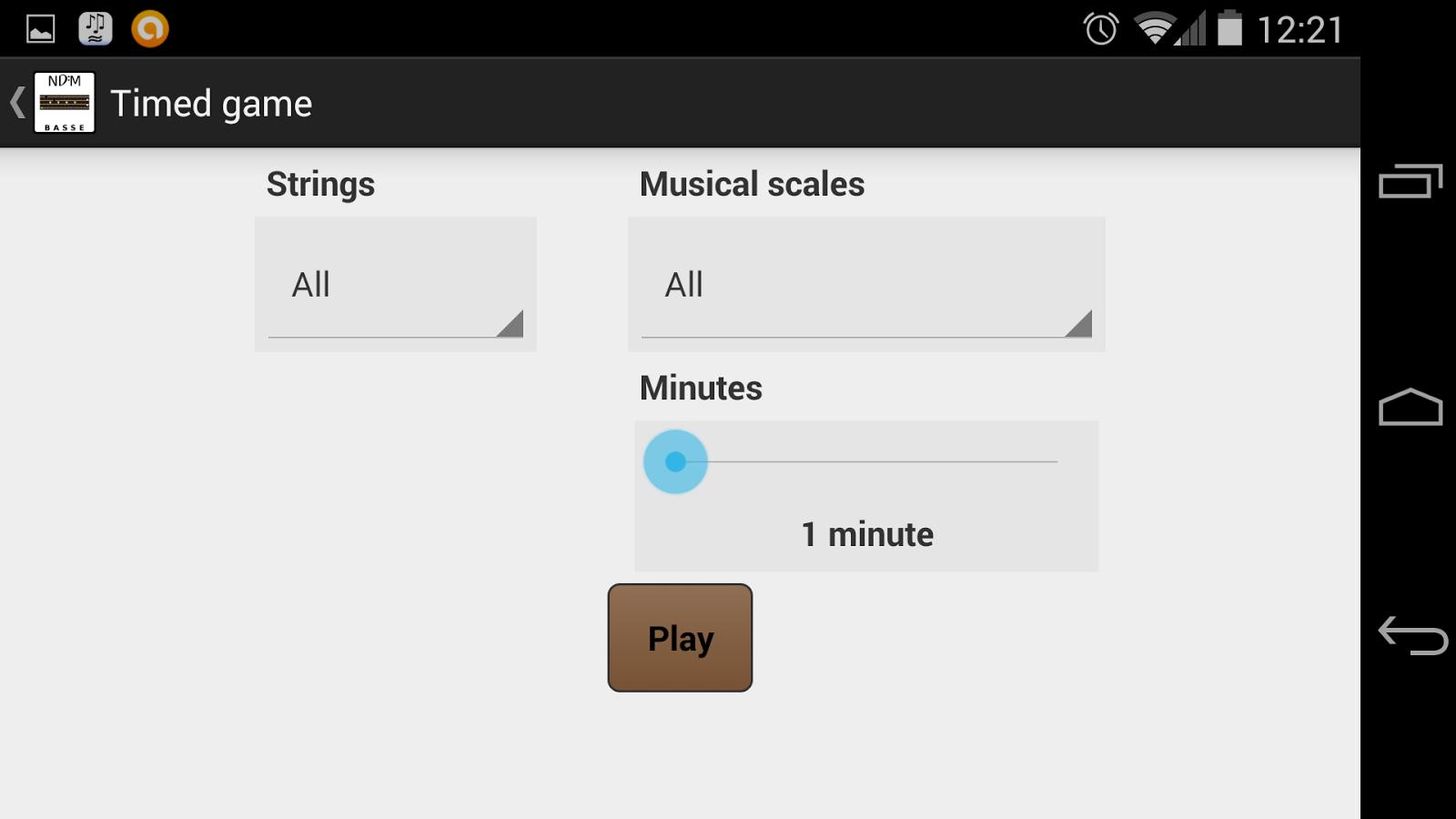 NDM-Basse (Music Notes) - screenshot
