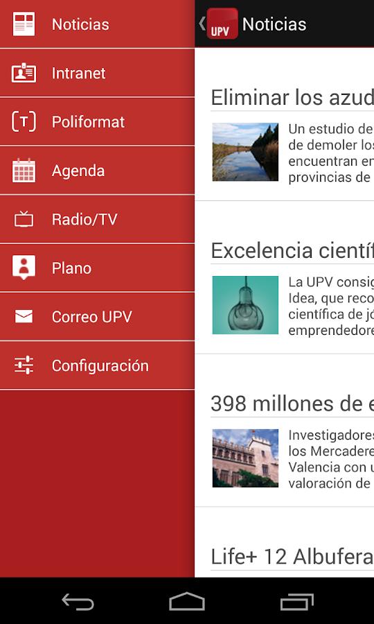 UPV - Politècnica de València- screenshot